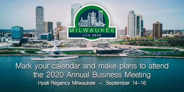 Save the date: 2020 ICAOS Annual Business Meeting in Milwaukee, WI, September 14–16